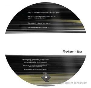 Vinyl Speed Adjust, Diferit & Lumieux - Reliant EP (Vera Remix) [Vinyl Only]